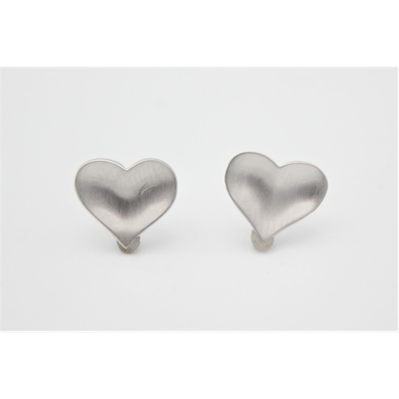 Valentine ørestikker, sølv, mat