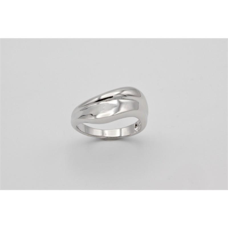 Swirl ring, sølv