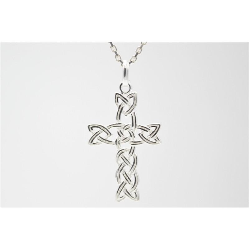 Faith, sølv kors