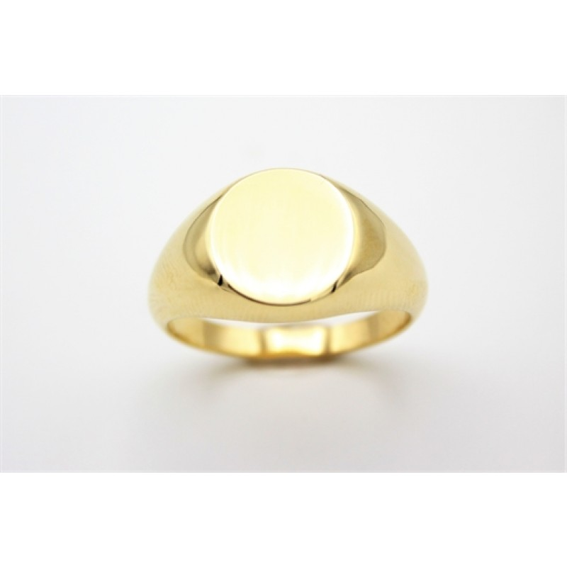 Classic 8 kt ring, bred