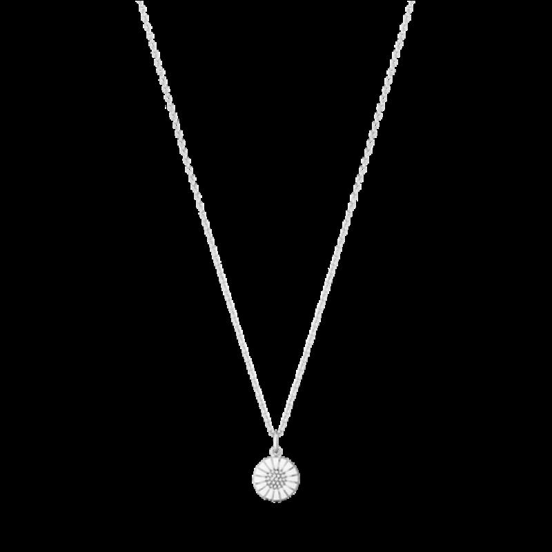 DAISY 11 mm vedhæng med brillanter sølv