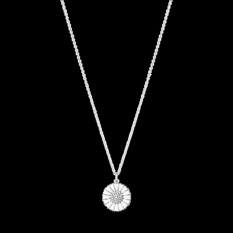 DAISY 18 mm vedhæng med brillanter sølv