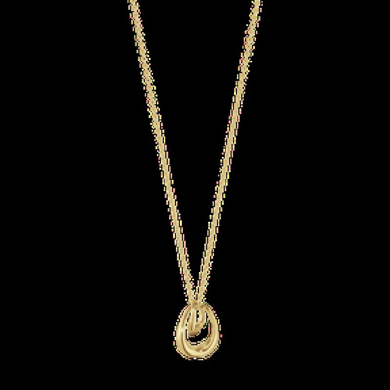 OFF SPRING halskæde guld