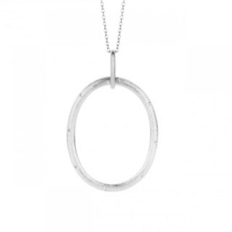 Taste sølv halskæde