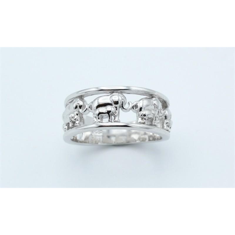 Elephant ring, sølv
