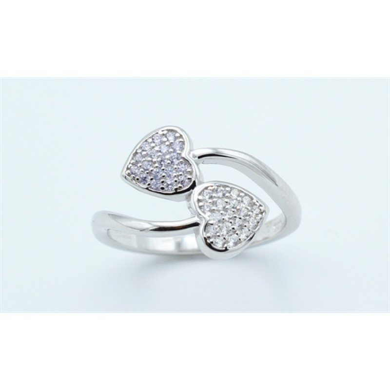 Hearts ring, sølv