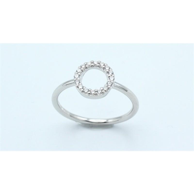 Circle ring, sølv
