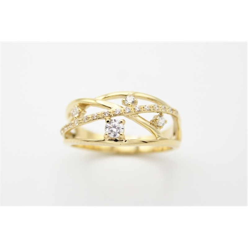 Lines 8 kt ring