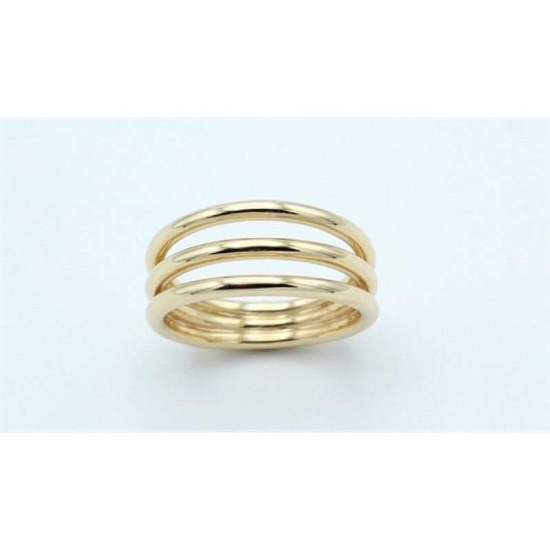 Lines 14 kt ring, blank