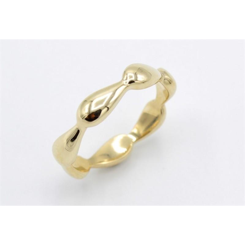 Braid 8 kt ring