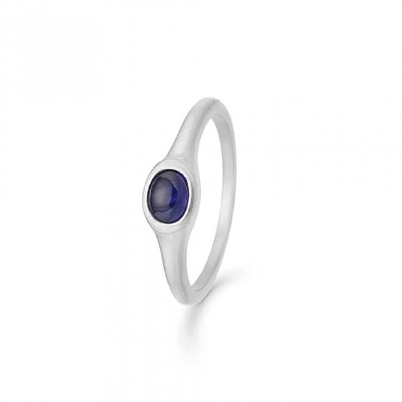 Cabochon safir ring