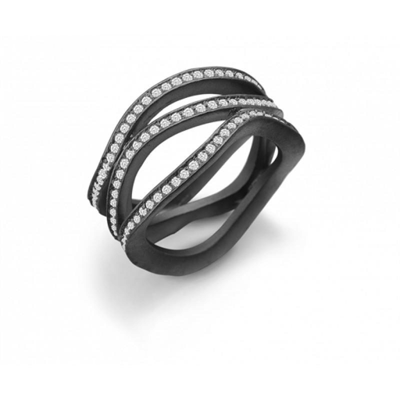 AAGAARD sort rhod. ring, bred