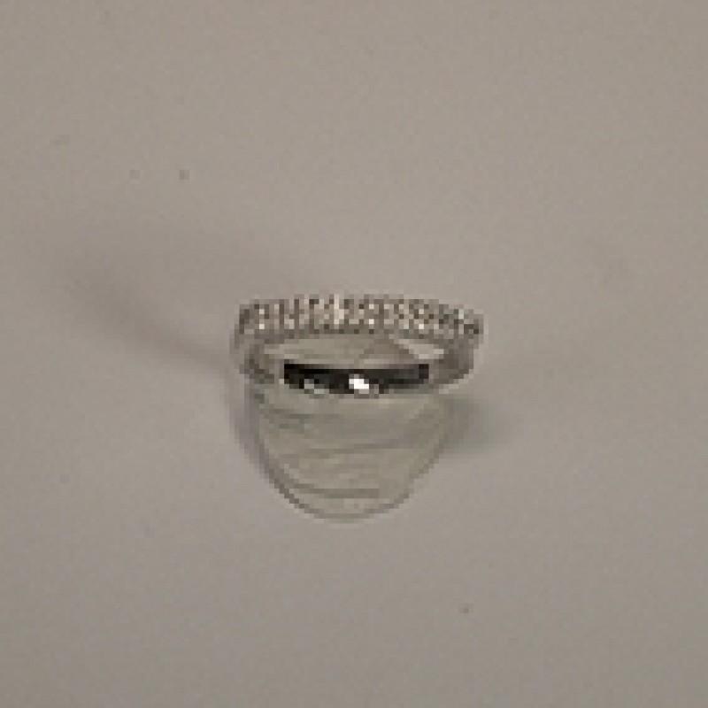 AAGAARD sølv ring med zirkoner