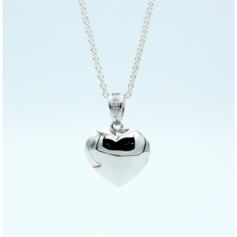 Hearts vedhæng, sølv