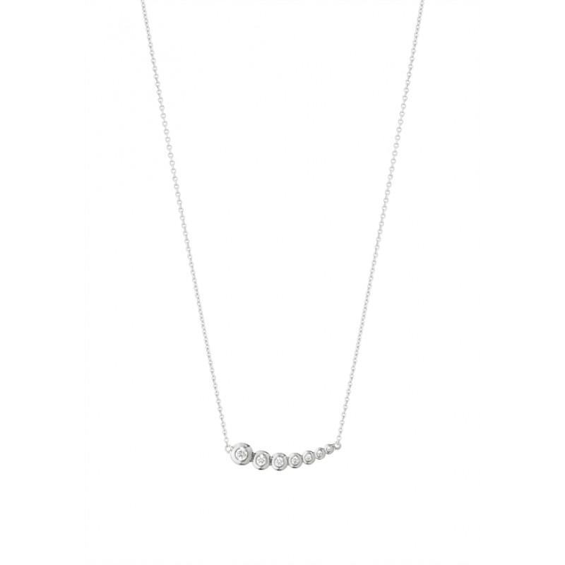 AURORA halskæde 1552G hvidguld