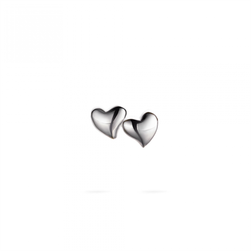 Heart ørestikker, sølv