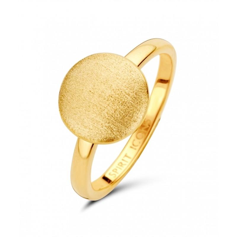 Aida ring forgyldt