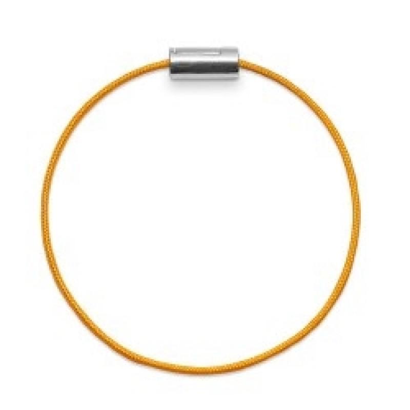 Armbånd sølv gul