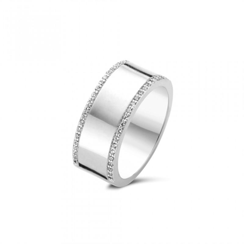 Tribal ring, sølv