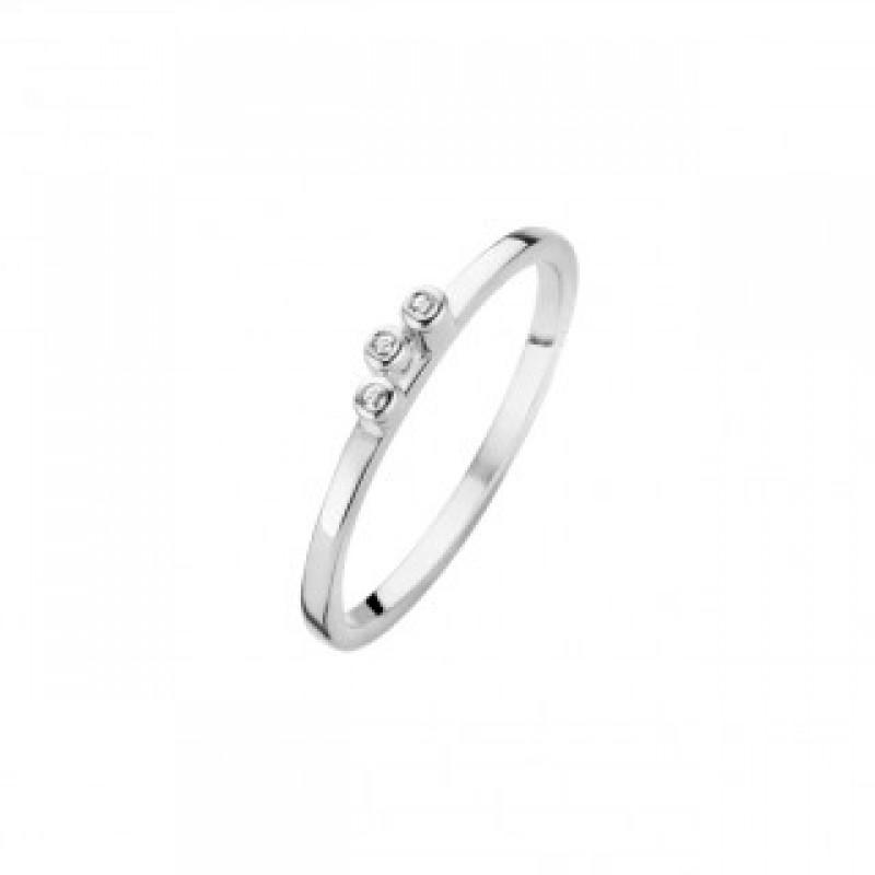 Bliss ring, sølv