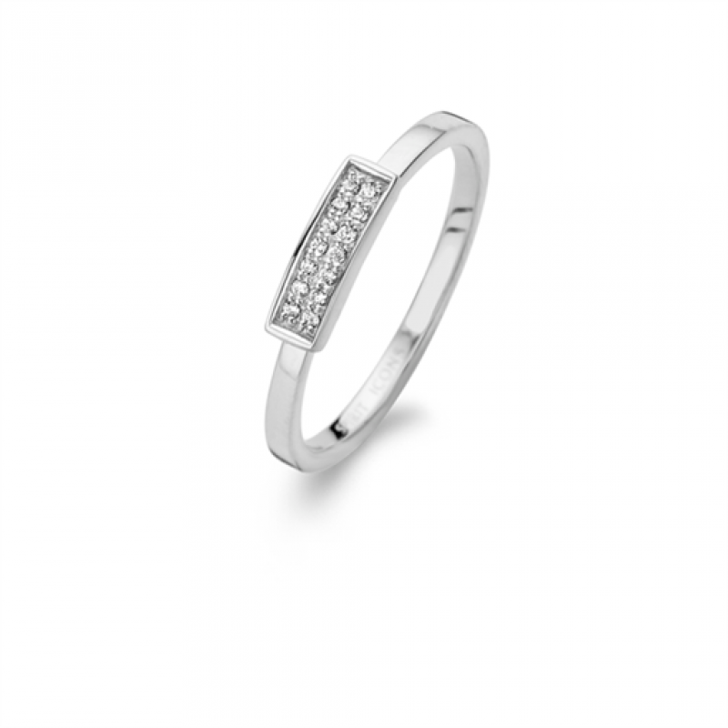 Brick ring, sølv