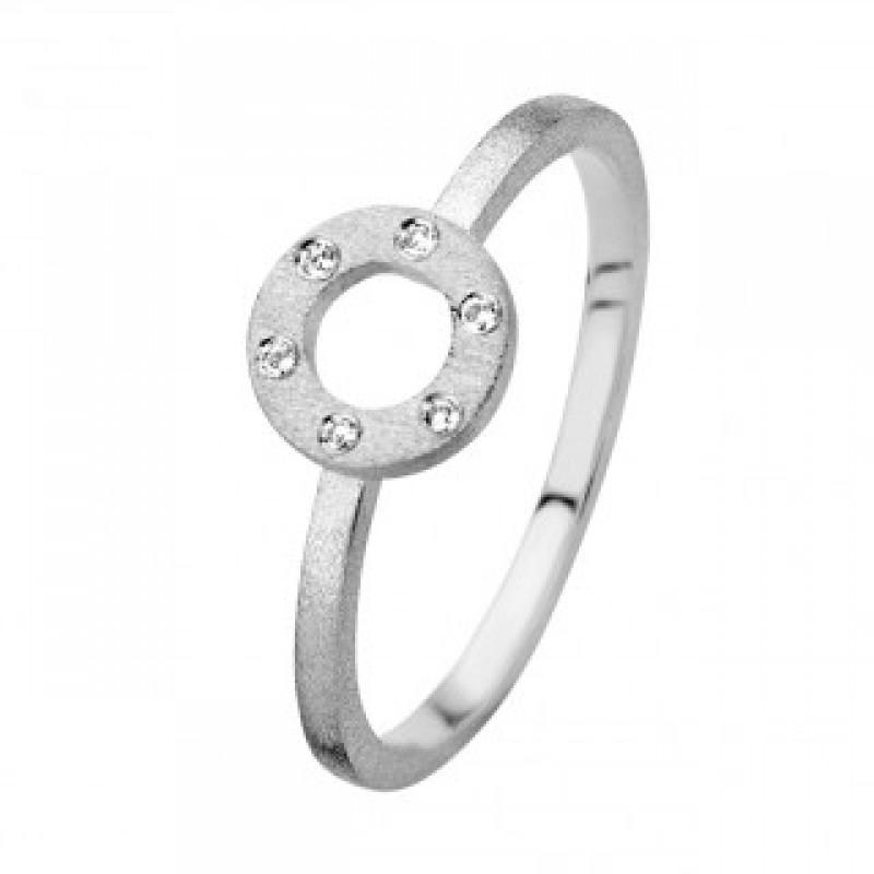 Wheel ring, hvidguld
