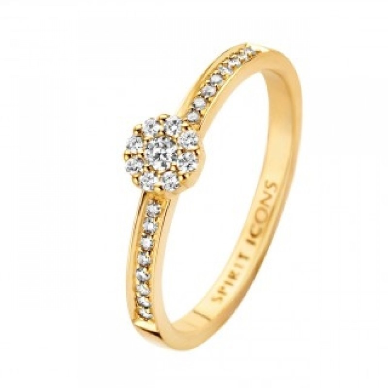 Eternal ring, rødguld