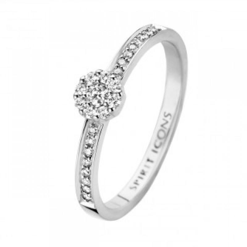 Eternal ring, hvidguld