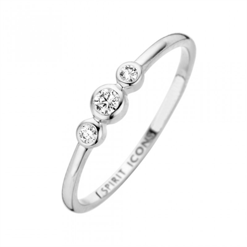 Trinity ring, hvidguld