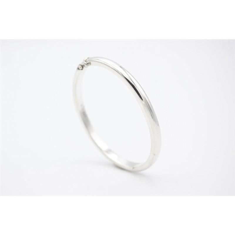 Armring i sølv, 5 mm