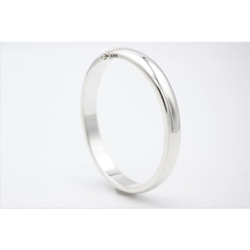 Armring i sølv, 9 mm