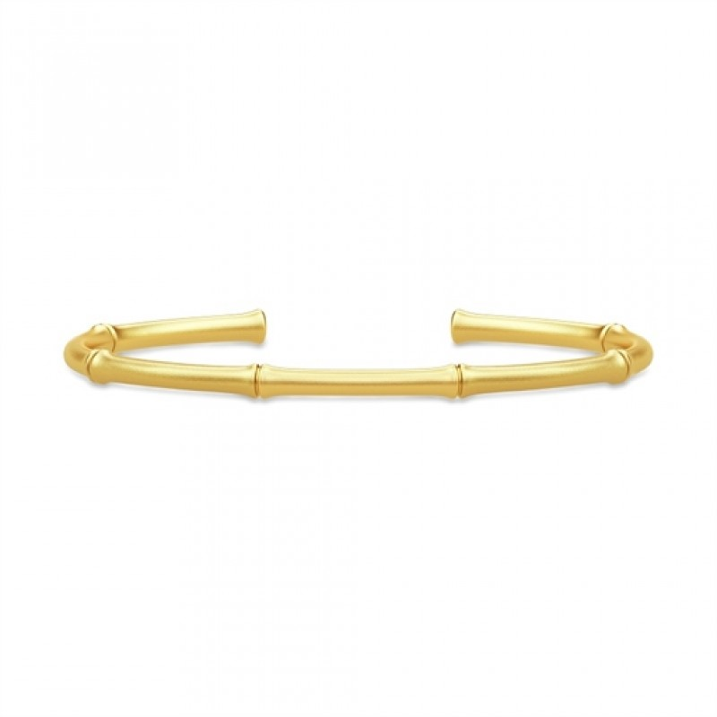 BAMBOO Forgyldt armring