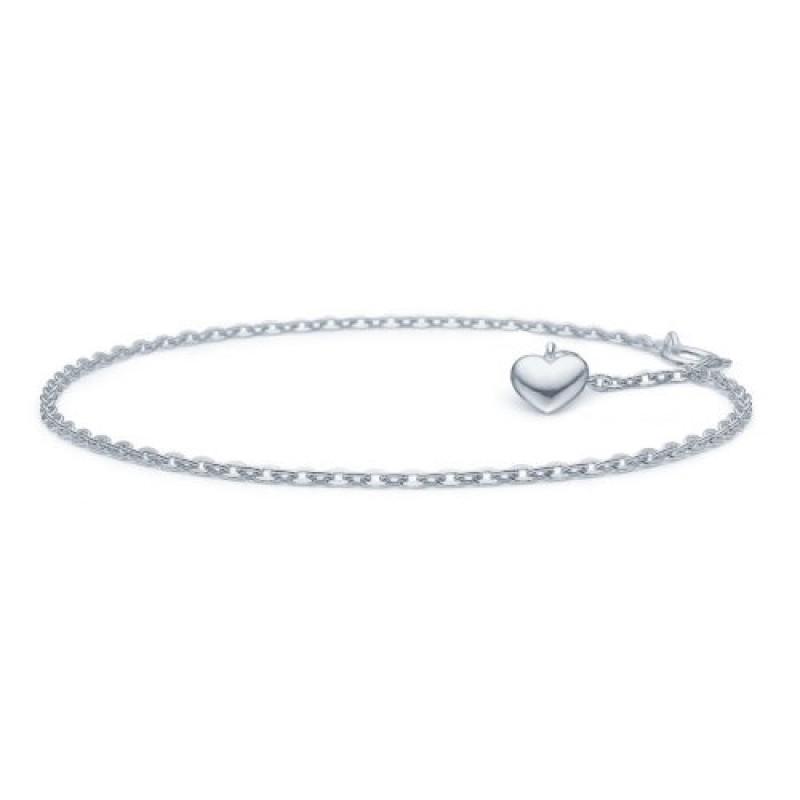 Amour armlænke, sølv