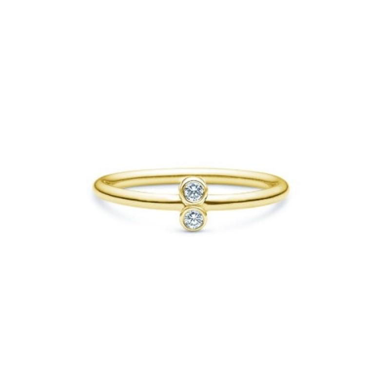 Capella ring, forgyldt
