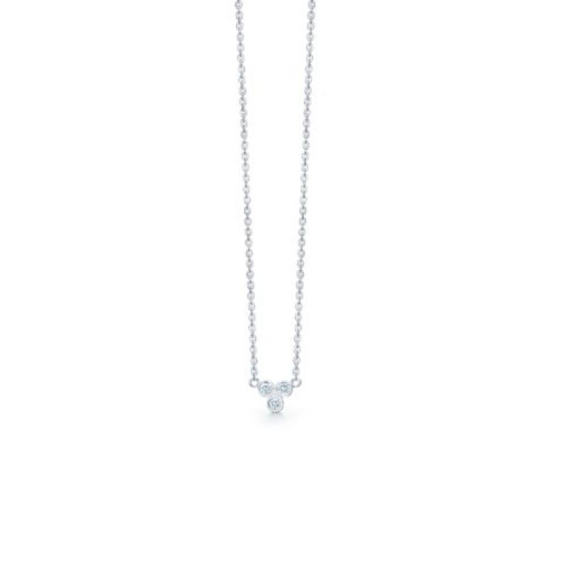 Tristar halskæde, sølv