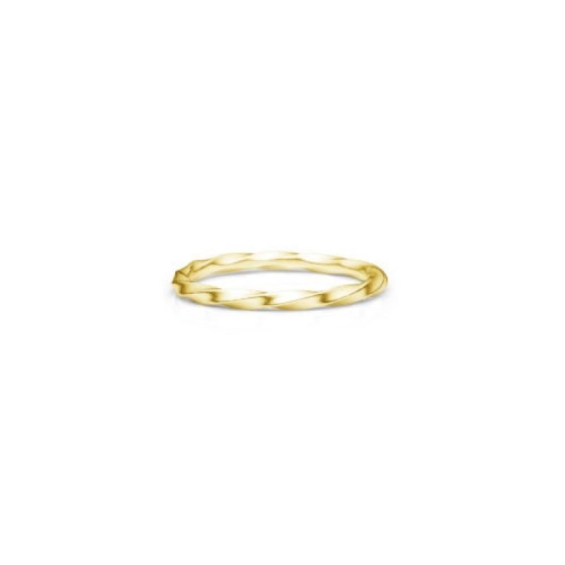 Unicorn ring, forgyldt