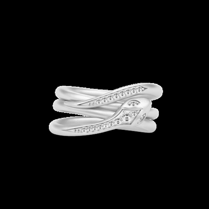 BOA sølv ring