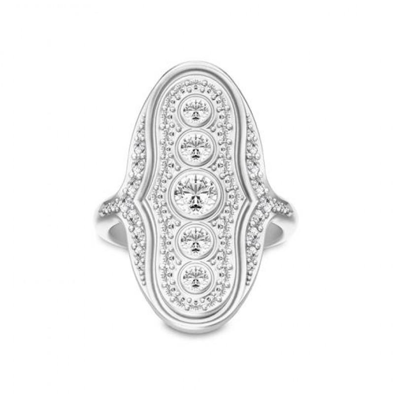 Mermaid Sølv Ring