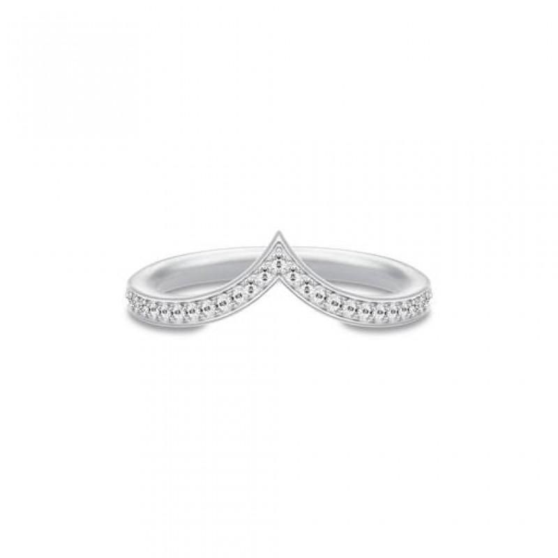 Ocean Sølv Crest Ring