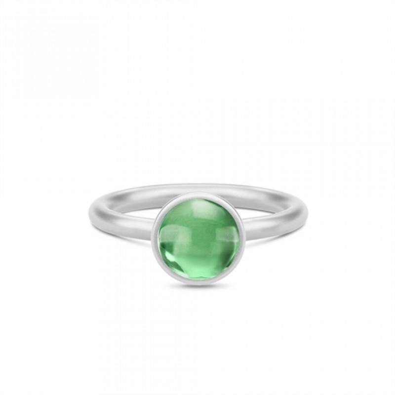 Primini Sølv Ring Grøn