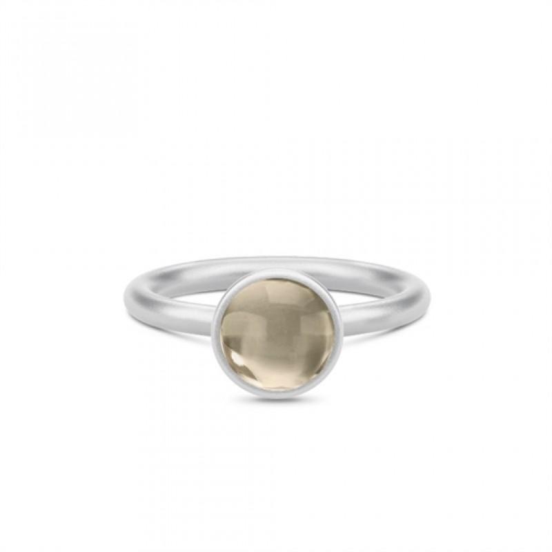 Primini Sølv Ring Smokey