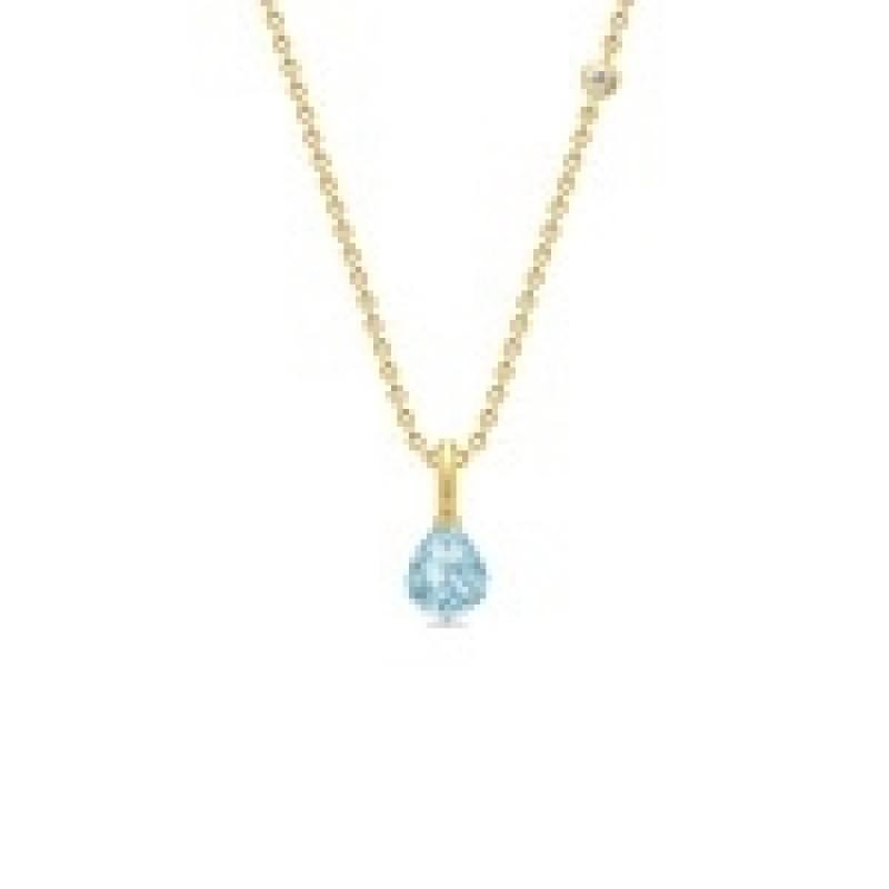 EVENING DEW collie med blå krystal