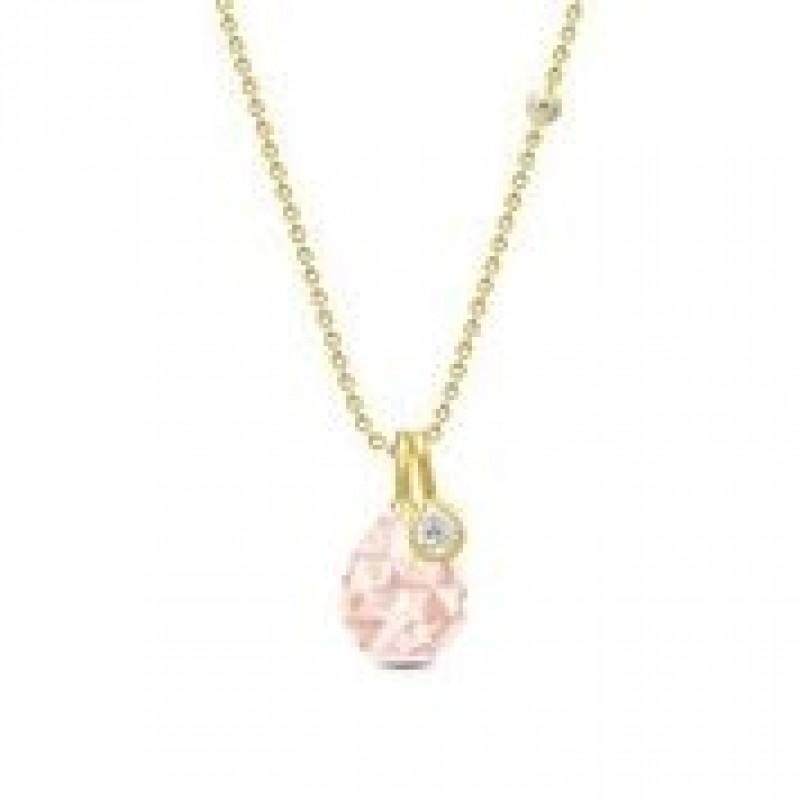 BALLERINA halskæde morganite krystal