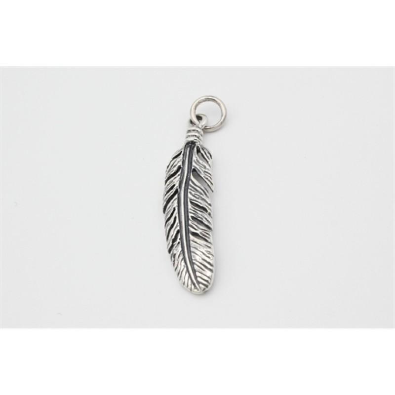 Feather vedhæng, sølv
