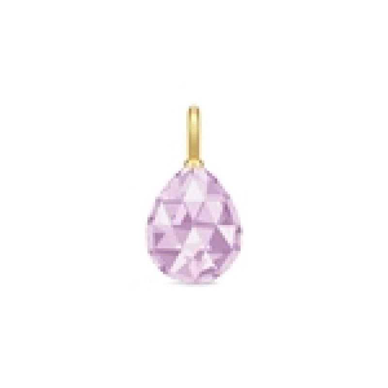 BALLERINA vedhæng lavender krystal
