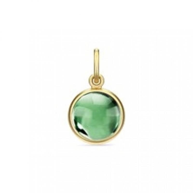 PRIME vedhæng med grøn krystal