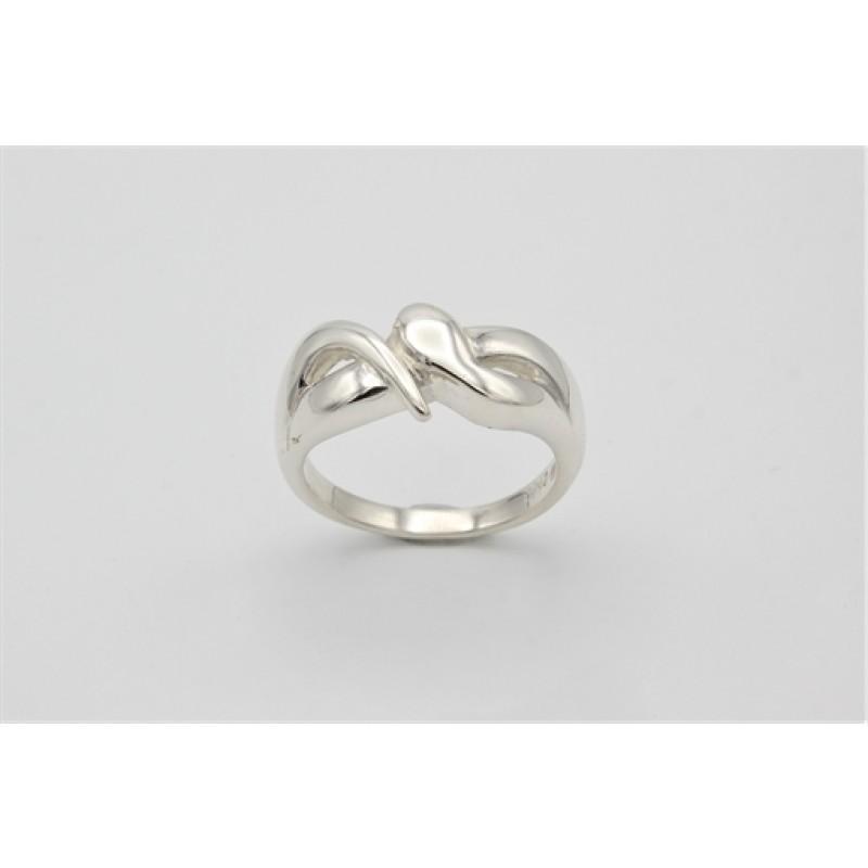 Snake ring, sølv