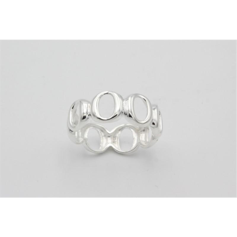 Circle sølv ring