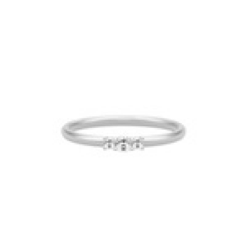 LUCIA ring lille sølv