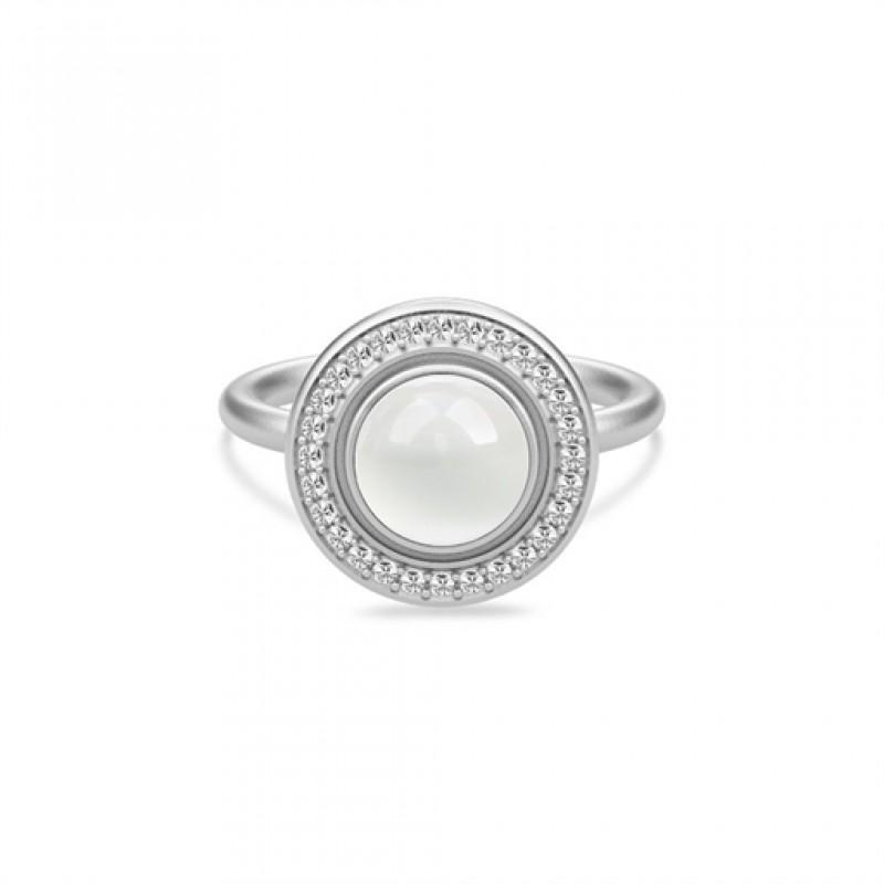 LUNA sølv ring